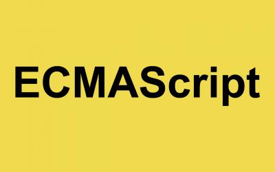 Taller de JavaScript, actualización ECMAScript2019