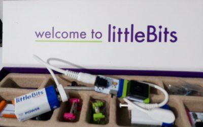 Taller de prototipado rápido, interacción y creación de circuitos con LittleBits.