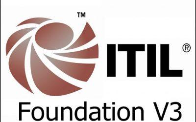 Curso de  ITIL Foundations V.3